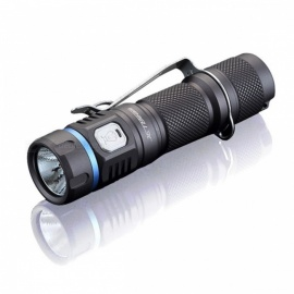JETBeam E40R LUMINUS SST40 LED 1100LM 6500 - 7000K USB Powered Flashlight - Black