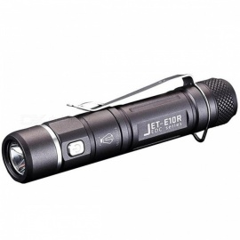 JETBeam E01R CREE XP - G2 LED 138LM Rechargeable Flashlight - Black