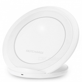 Ultra Thin Wireless Quick Charging Pad Charger for Mobile Phones - White