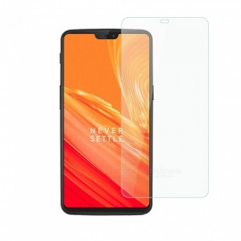 Dayspirit Tempered Glass Screen Protector for OnePlus 6, 1+6 - Transparent