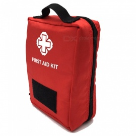 Outdoor Multi-functional Travel First Aid Kit Sports Medical Bag Tactical Tool Storage Waist Bag - Red (0.2L)