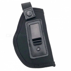 Outdoor Stealth Tactical Cotton CS Field Gaming Gun Holster Small Bag - Black (0.1L)