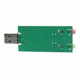 Geekworm PCM2912-UAC USB Audio Sound Card with Microphone for Raspberry Pi, Windows, Linux