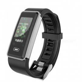 G23 IP67 waterproof multifunctioneel touchscreen slimme armband sportfitness tracker - zwart