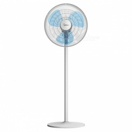 Midea SAB40A Fan, Mechanical Floor Desktop Stand Fan - White