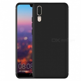 Dayspirit Protective Matte Frosted TPU Back Case for Huawei P20 - Black