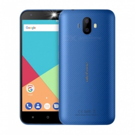 "Ulefone S7 Android 7.0 3G 5.0"" Phone with 1GB RAM, 8GB ROM, 2500mAh Large Battery - Blue"
