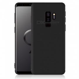 Dayspirit Protective Matte Frosted TPU Back Case for Samsung Galaxy S9 Plus, S9+ - Black