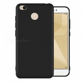 Dayspirit Protective Matte Frosted TPU Back Case for Xiaomi Redmi 4, Redmi 4X - Black