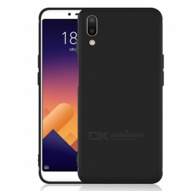 Dayspirit Protective Matte Frosted TPU Back Case for Meizu E3 - Black