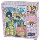 One Piece Paper Jigsaw Puzzle (108-Piece Set)