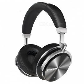 Bluedio T4 Portable ANC Noise Cancelling Bluetooth Headphone Headset - Black