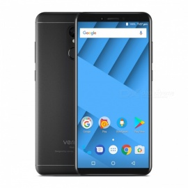 "Vernee M6 5.7"" 18:9 Android 7.0 4G Phone with 4GB RAM, 64GB ROM - Black"