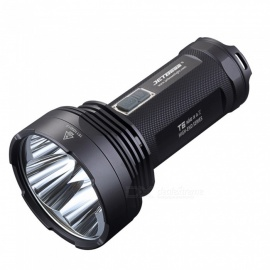 JETBeam T6 4*CREE XP-L LED 4350LM 750 Meters Long Beam Distance Torch Flashlight for Camping Hunting Outdoor Sports