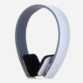 BQ618 cuffia con auricolare stereo bluetooth wireless intelligente con microfono - bianco