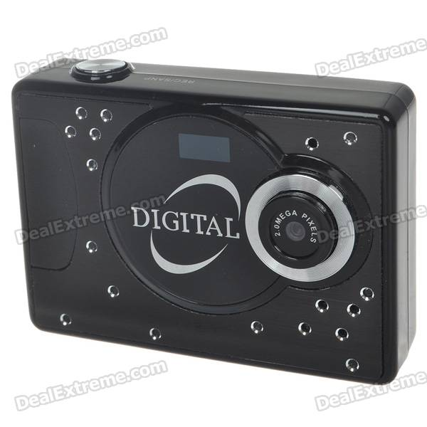 "Mini 1.5"" LCD 2.0M Pixel Video Recorder/Camcorder w/ TF Slot"