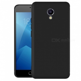 Dayspirit Protective Matte Frosted TPU Back Case for Meizu M5 Note - Black