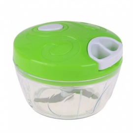 Measy Multi-functional Household Vegetable Chopper Shredder Food Meat Processing Crusher Blender - Green