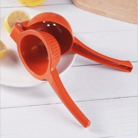 Creative Spoon Style Plastic Kitchen Fruit Lemon Squeezer Orange Juice Making Machine Tool - Red