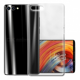 Protective Ultra-Thin TPU Back Case Cover for Homtom S9 Plus - Transparent