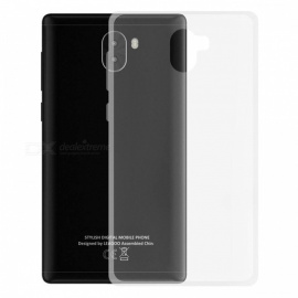 Ultra-Thin Protective TPU Clear Back Case for LEAGOO KIICAA MIX - Transparent