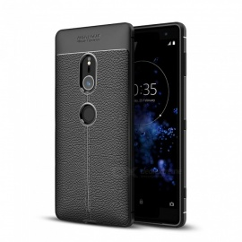 Dayspirit Lichdee Pattern Protective TPU Back Cover Case for Sony Xperia XZ2 - Black
