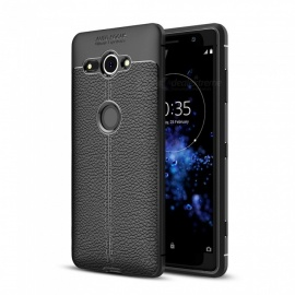 Dayspirit Lichdee Pattern Protective TPU Back Cover Case for Sony Xperia XZ2 Compact - Black