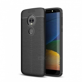 Dayspirit Lichdee Pattern Protective TPU Back Cover Case for Motorola Moto E5, Moto E (5th Gen.) - Black