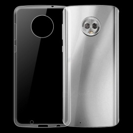 Dayspirit Ultra-Thin Protective TPU Back Case for Motorola Moto G6 - Transparent