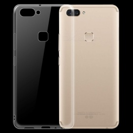 Dayspirit Ultra-Thin Protective TPU Back Case for Vivo X20 - Transparent