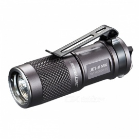 JETBeam JET - II MK Cree XPL HI 510LM EDC LED Pocket Flashlight w/ Twisty Switch  -  Grey