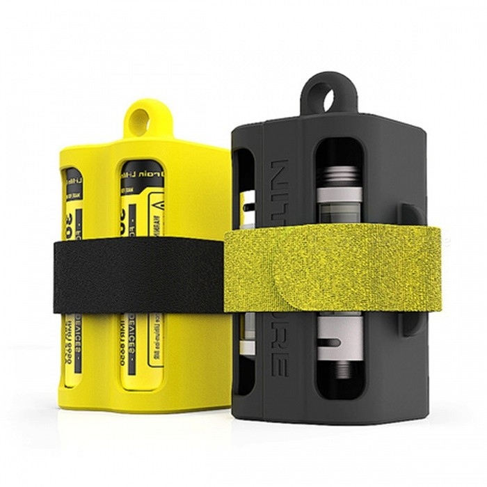 Nitecore NBM40 Battery Holder Box for 18650 Batteries - Yellow ...