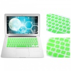 EU Version Spanish Keyboard Protective Film Cover for 13 inches MACBOOK - Green