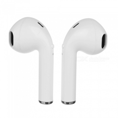 I8 tws Wireless Bluetooth v4.2 Earbuds Binaural Stereo Sound Noise Cancellation Earphones - White