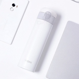 Xiaomi VIOMI Portable 316 Stainless Steel Vacuum Flask Water Bottle Thermos - White (300ml)