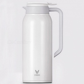 Xiaomi Mijia VIOMI Thermo Mug 1.5L Stainless Steel Vacuum Bottle Pot Thermos - White