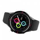 "GW12 Waterproof 1.7"" Smart Watch with Heart Rate, Sleep Monitoring, GPS Positioning - Black"