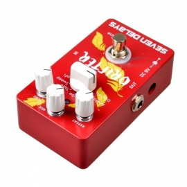 caline CP-37 sete delays efeitos de guitarra pedais design de circuito digital true bypass pedal