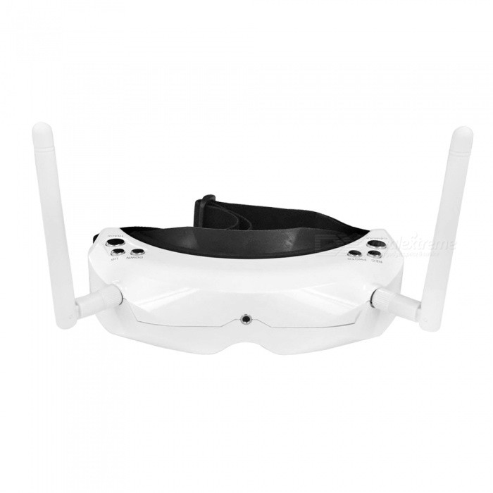 SKYZONE SKY02S V+ 5.8G 48CH AIO 3D FPV Goggles�� Headset Video Glasses - White