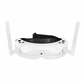 SKYZONE SKY02S V+ 5.8G 48CH AIO 3D FPV Goggles, Headset Video Glasses - White