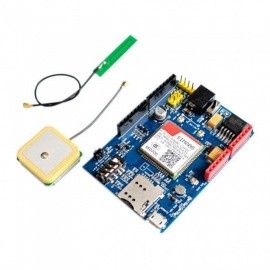 ESAMACT High Quality SIM808 GPRS/GSM+GPS 2 in 1 Shield, GSM GPRS GPS Development Board Module for Arduino