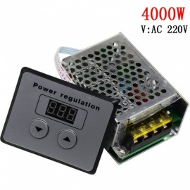 ESAMACT AC 220V 4000W SCR Thyristor, High Power Electronic Digital Voltage Regulator