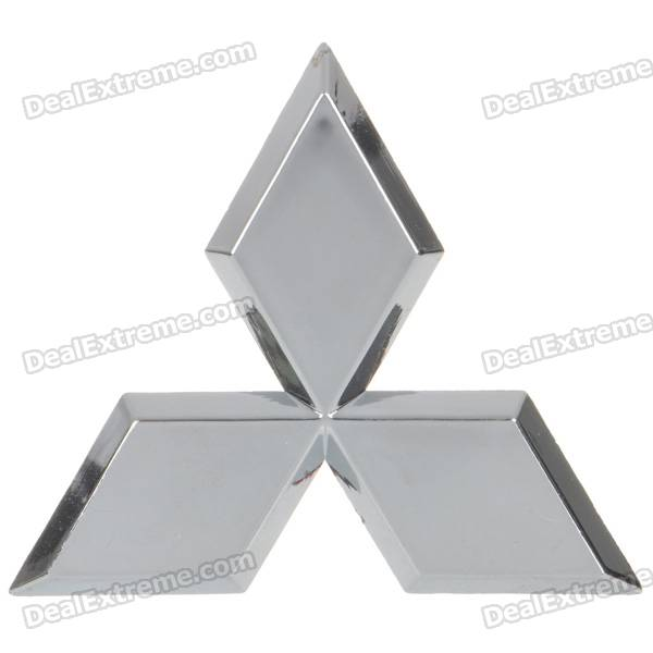 Mitsubishi Logo Style Alloy Car Sticker