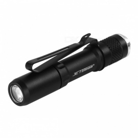 JETBeam SE-A01 Cree XP-E Max 130 Lumens AAA Battery Powered Flashlight - Black