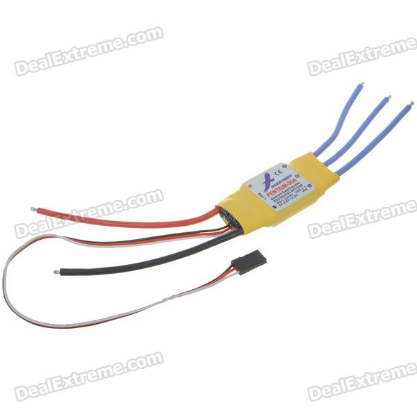 Speed Controller 30A BEC for Brushless Motors on R/C Helicopters