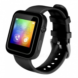 New I9 Smart Fashion Watch w/ Pedometer, Calorie Consumption, Sleep Monitoring, IP54 Level Daily Waterproof - Black