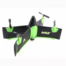 X99A 2.4G 4CH Flying Wing RC Rocket RTF with Altitude Hold Mode - Black