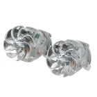 Wind Powered LED Light for Vehicles (2-Pack)