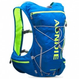AONIJIE Portable Lightweight Vest Bag Backpack for Marathon, Running, Outdoor Sports - Blue (M / L)