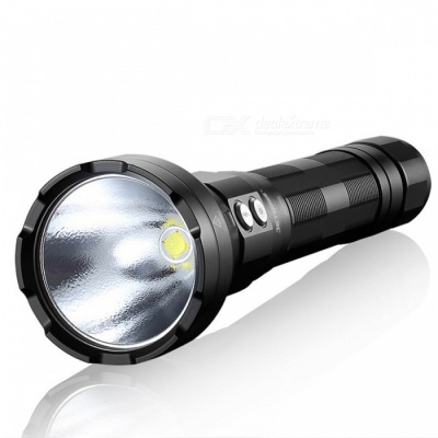 JETBeam SSR50 Type-C Fast Charge 3650LM Highlight Torch Flashlight for Patrol Night Exploration - Black (US Plug)
